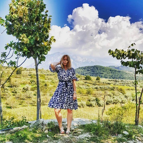 Alice Ophelia Taylor travel blogger albania