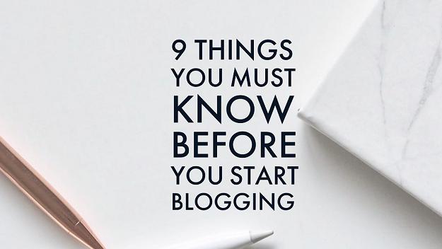 Start blogging in 2020