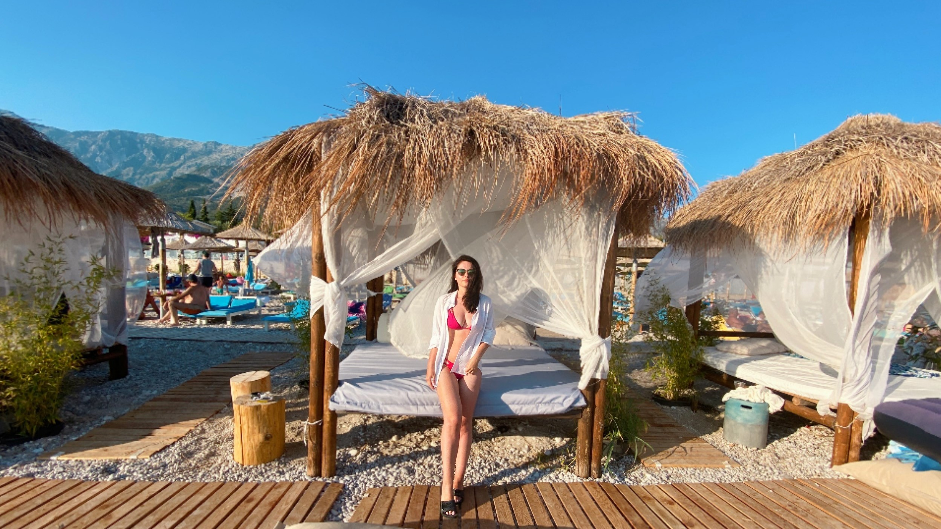 Albanian Beach Travel Bloggers