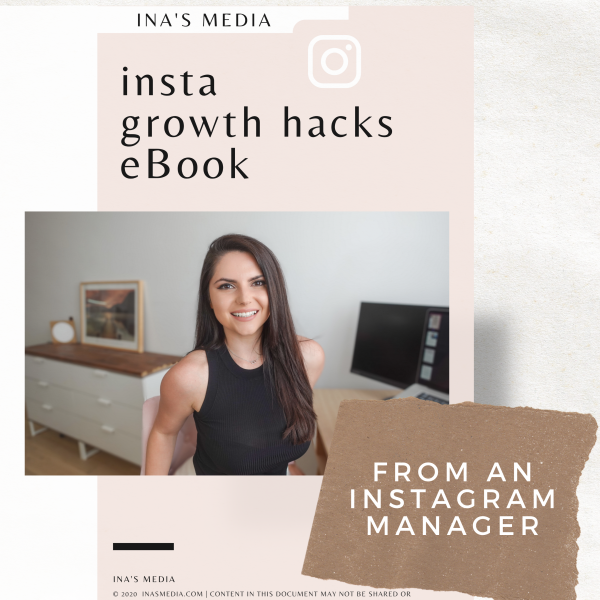 ebook Instagram Growth Hacks from an Instagram Manager