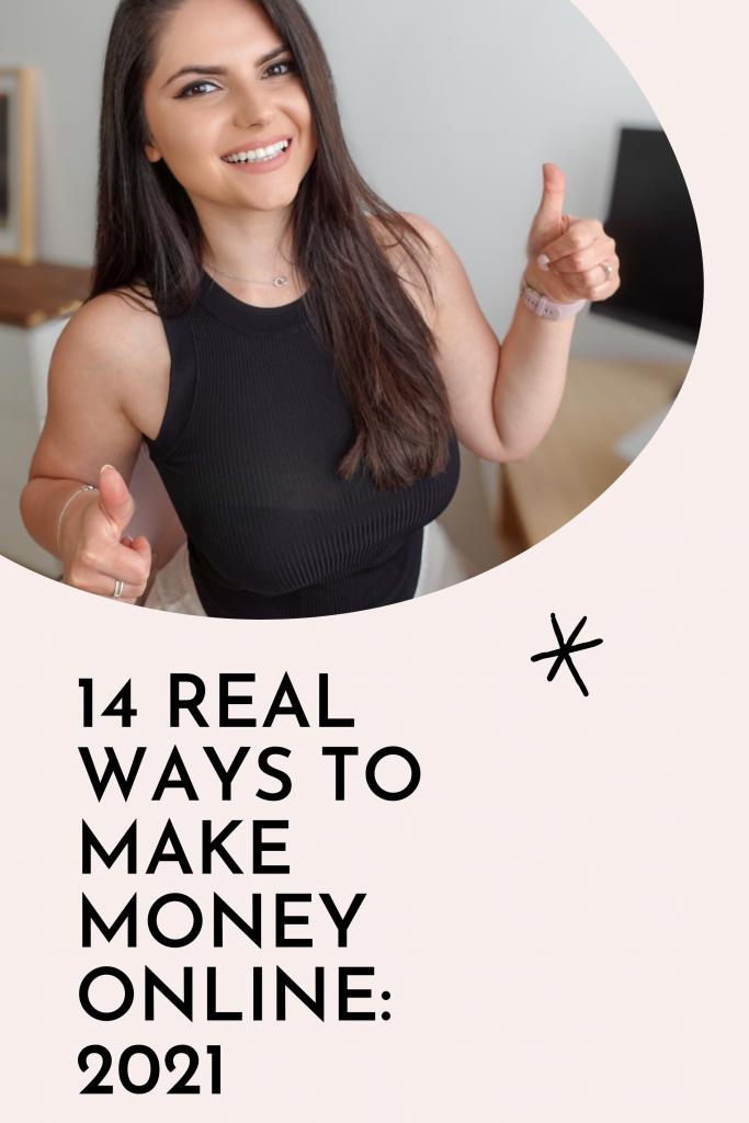 14 WAYS TO MAKE MONEY ONLINE 2021